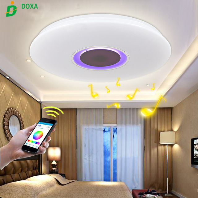 Perfect 2017 Hot Smart APP Control Music Bluetooth Brightness Dimmable Ceiling Lamp  LED Light Lamparas De Techo Great Ideas