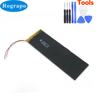 New 3.8V Li-Polymer Replacement Battery For Newman F7 M78 / Voyo X6S / Taiwan Power A70H Tablet PC Accumulator 2 wire image