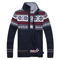 Бесплатная доставка последние зимние мужские случайные долго воротник кардиган свитер мужской жаккардовый свитер размер M-3XL 84.15 XYQ