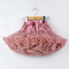 Юбка-пачка для маленьких девочек Пышная юбка для фотосессии Рождественская юбка принцессы для маленьких девочек от 0 до 2 лет, подарок для малышей