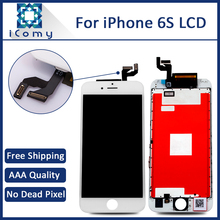 Tianma 4.7 inch  3PCS Grade AAA LCD For iPhone 6S Display Touch Screen With Digitizer Replacement Assembly Parts Free DHL