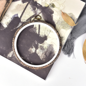 Image 5 - 12 29 ซม.ปฏิบัติเย็บปักถักร้อย Hoops กรอบไม้ไผ่ไม้เย็บปักถักร้อย Hoop แหวนสำหรับ DIY CROSS Stitch เข็มเครื่องมือ