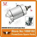 ZONGSHEN CB250 250cc Air Cooled Cooling Engine Start Starter Motor Fit To Most Motorcycle Dirtbike ATV Quad Parts Free Shipping