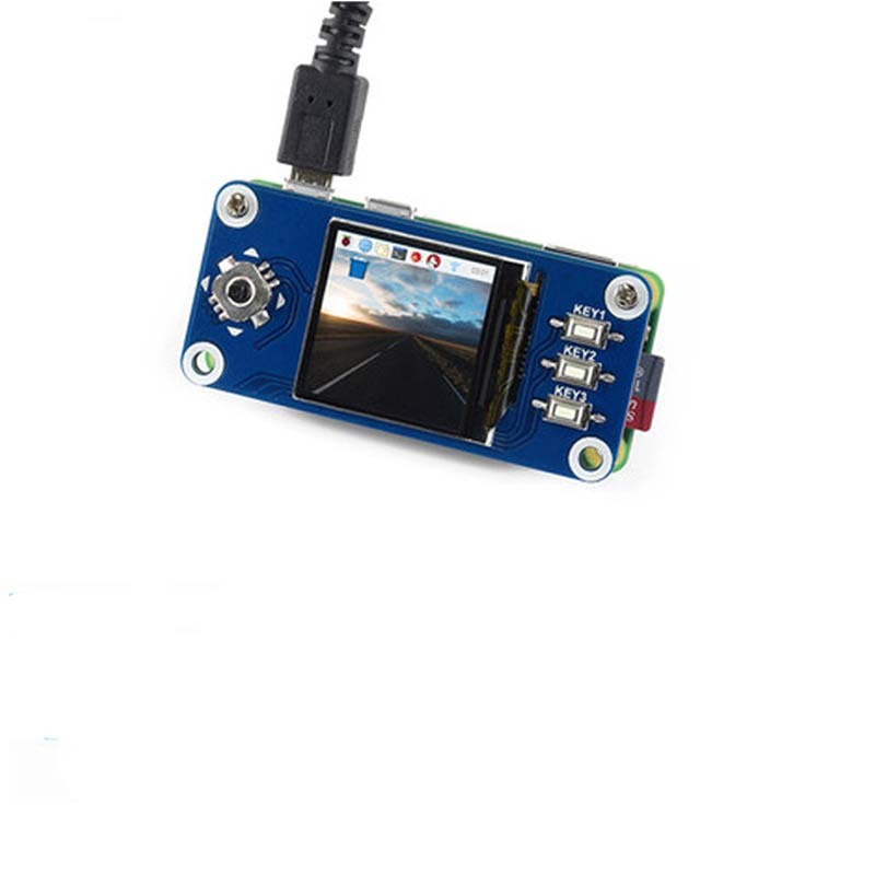 1.3inch IPS LCD <font><b>display</b></font> HAT for Raspberry Pi,<font><b>240x240</b></font> pixels,SPI interface ,for Raspberry Pi Zero/Zero W/Zero WH/2B/3B/3B+ image