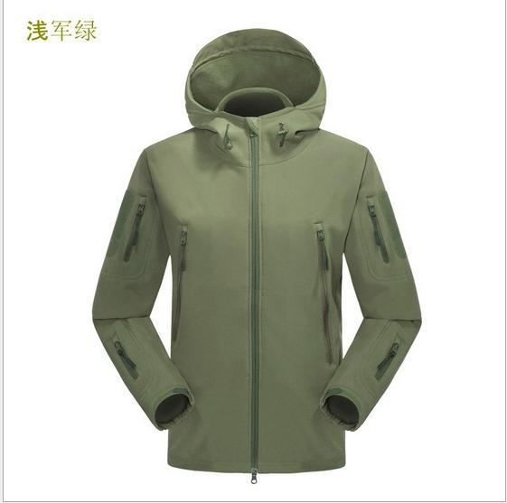 Army Camouflage Coat Military  Waterproof Windbreaker Raincoat Clothes Army Men  And Coats