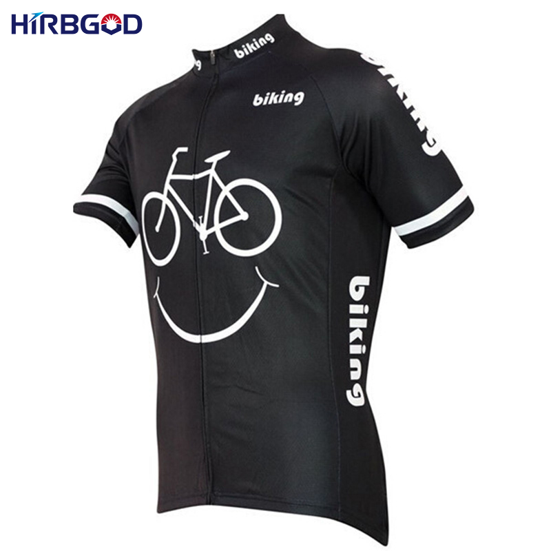 HIRBGOD 2017 Maillot Ciclismo Hombre Verano Velosiped Geyim Yay Qısa - Velosiped sürün - Fotoqrafiya 3