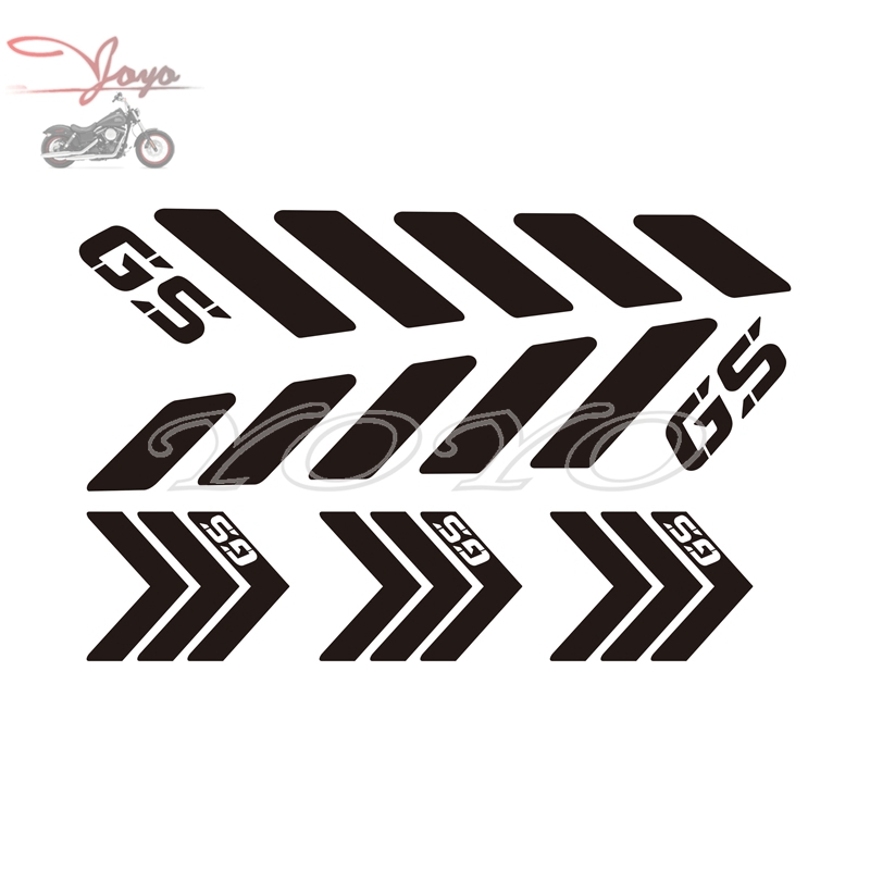 Motorcycle GS Logo Stickers Helemt Decals For F650GS F700GS F800GS G650GS R1200GS