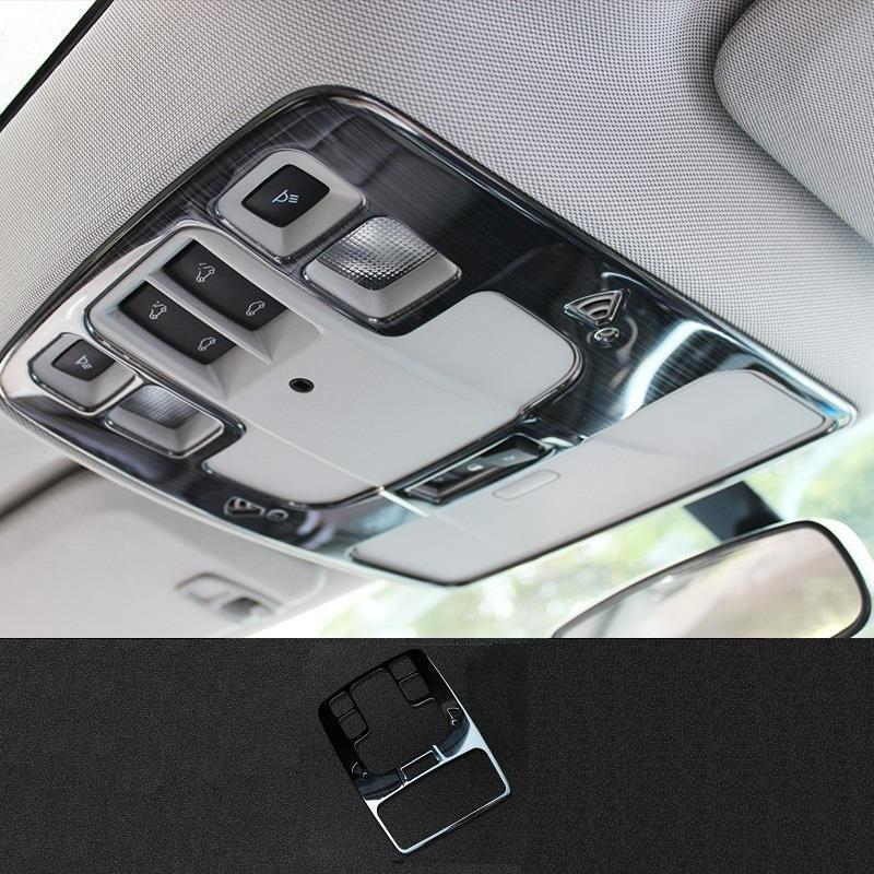 Auto Reading Lamp Air Conditioner Automobile Chromium Modified Car Styling Sticker Strip 12 13 14 15