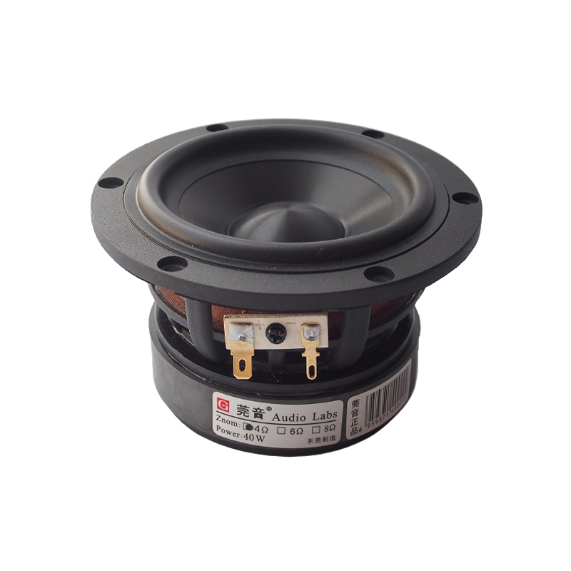 купить Black Diamond ceramic basin series 4 inch medium bass loudspeaker HIFI Midwoofer bookshelf speaker недорого