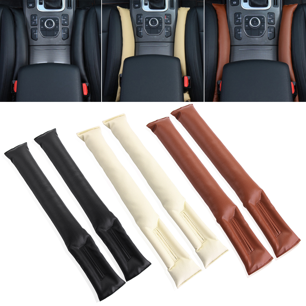 FH Group PU205013BROWNBLACK Brown//Black-Bench PU205BROWNBLACK013 Ultra Comfort Leatherette Rear Seat Cushions