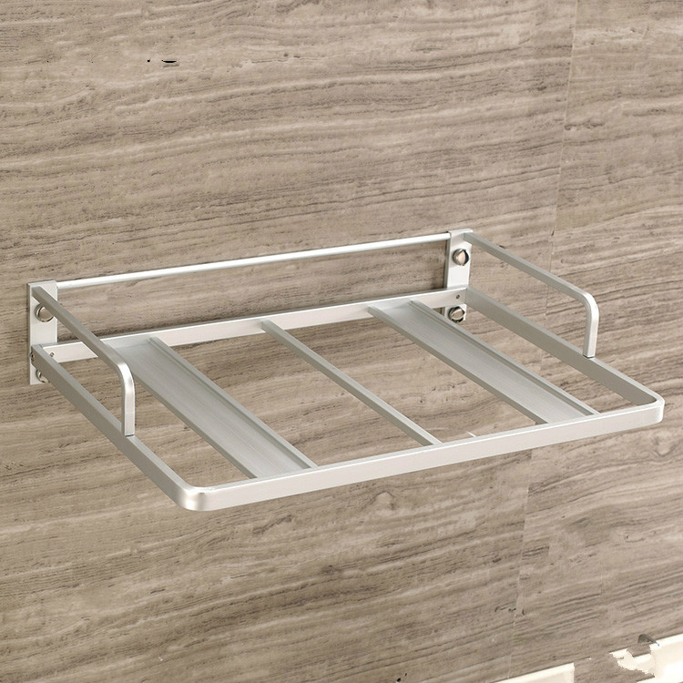 Thickened space aluminium microwave oven rack wall bracket rack  kitchen support Lu50310