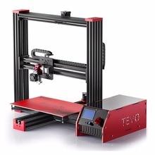 Tevo Черная Вдова DIY Забавные 3D печати принтера комплект ЖК-дисплей Дисплей ручной работы abs древесина нейлон Высокая точность алюминиевого профиля