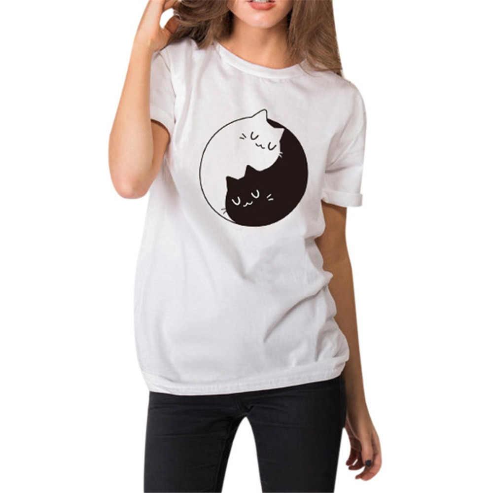 Футболка женская серая белая футболка 2019 лето повседневная с круглым вырезом Большой размер Топы с вязаными воротниками футболки ropa mujer moda4.2-30