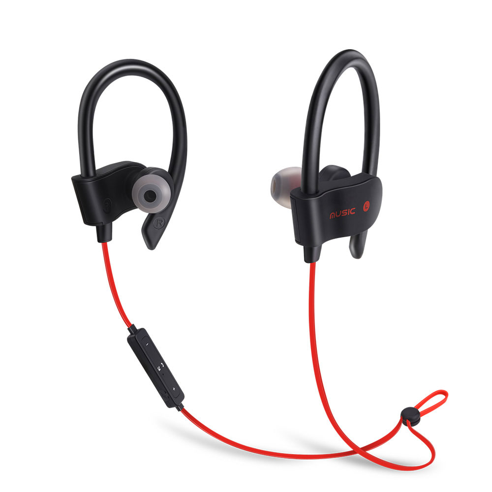 Bluetooth Earphone Headsets 5 0 Sports Waterproof Wireless Headphones Earbuds Hifi Noise Cancelling Dynamic Handfree For Mobile in Bluetooth Earphones Headphones from Consumer Electronics