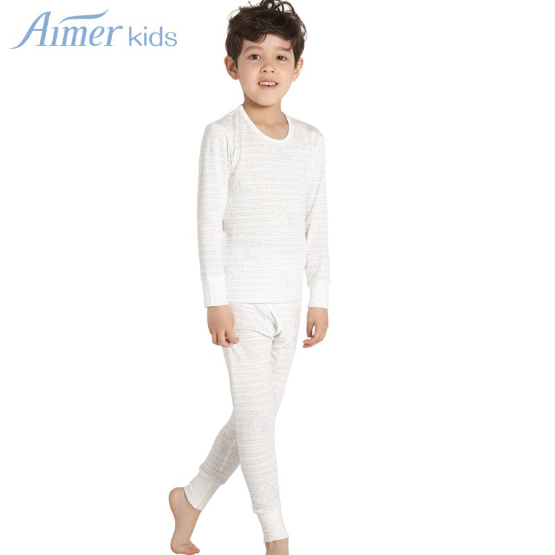 Online Shop Kids adorer aimer child thermal underwear marine ...