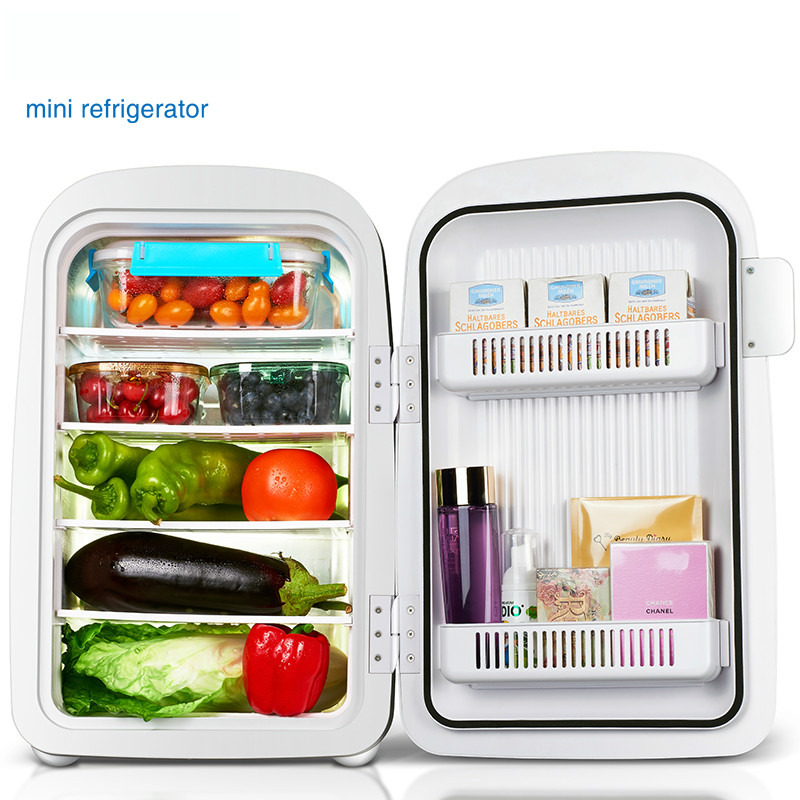 28L Car/Household Use Mini Single door Refrigeration Small Household Student Dormitory Cooling heating Use|Refrigerators| |  - title=