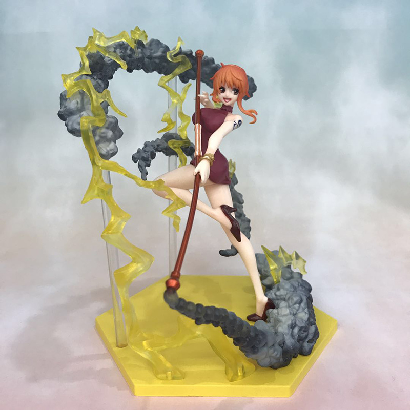 Anime One Piece Fighting Ver. Nami Action Figure 1/8 scale figure Extra Battle Fgiure Toy no retail box (Chinese Version) 2