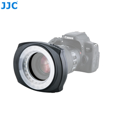 лучшая цена JJC LED-48IO Macro Ring Lighting Photographic Lighting LED Flash Video Lights For NIKON For CANON For SONY For  PENT