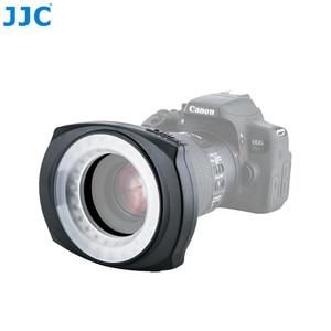 Image 3 - JJC DSLR Camera Flash Video Speedlite Inside Outside Half Whole LED Macro Ring Light for NIKON CANON SONY Fuji Olymous Panasonic