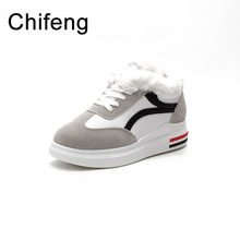 women warm casual shoes winter womens platform sneakers woman thick sole shoes comfortable fashion sneaker