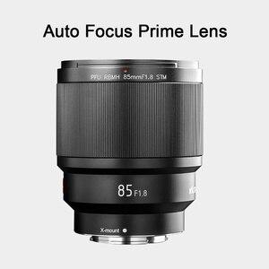 Image 2 - VILTROX 85MM F1.8 STM X mount Fixed Focus Lens AF Portrait Lens Full Frame Auto Focus Prime Lens for Fuji X Mount cameras
