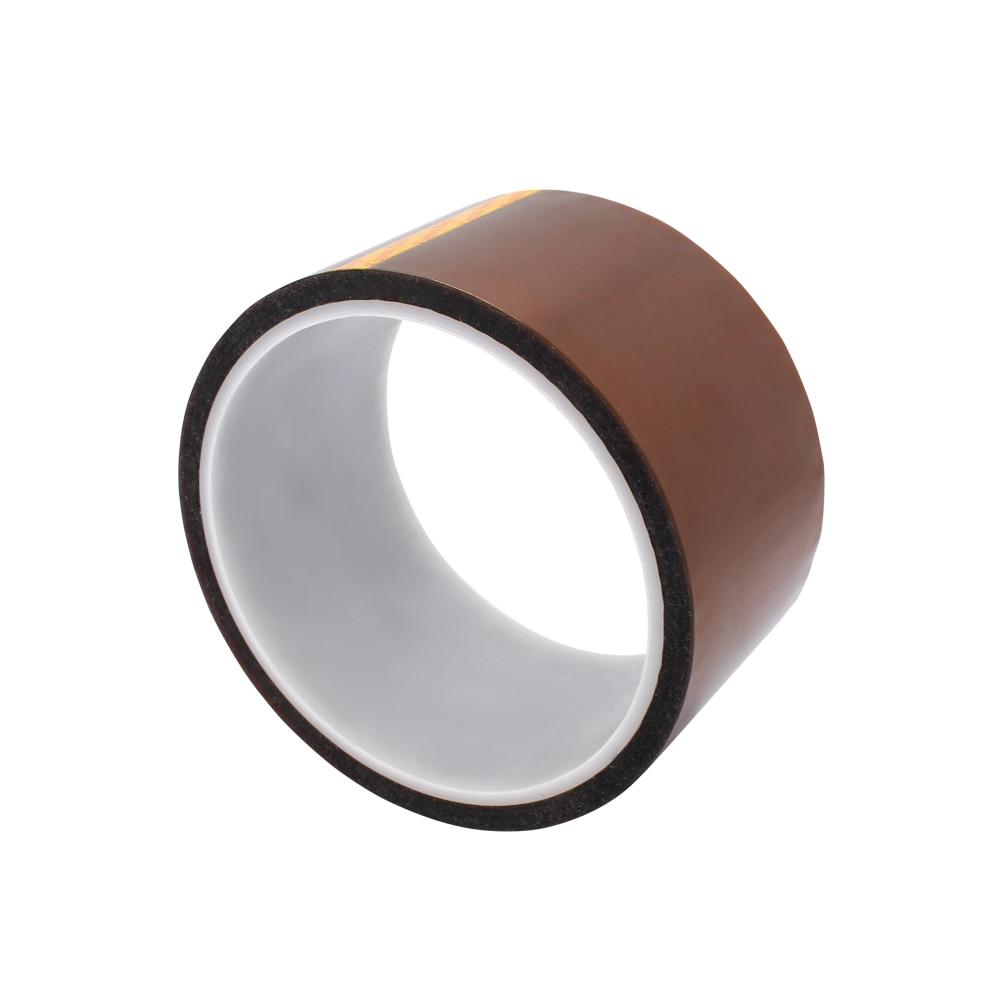 50mm x 33 m Cinta de Alta Temperatura cinta Resistente Al Calor dedicado Cinta T