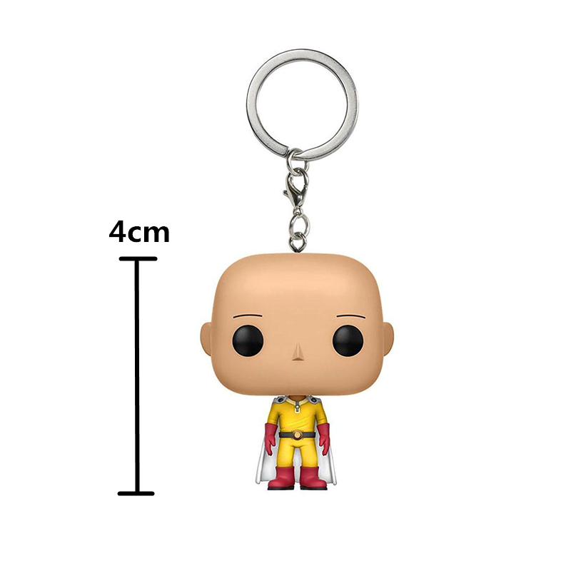 one punch man keychain 4cm Height