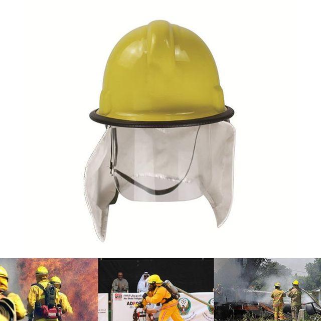 Gratis Verzending Fire Fighter Rescue Helm Cap Capf Beschermende Bril Brand Hoed