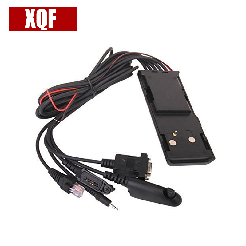 XQF Universal RIB-Less 5 IN 1 Programming Cable HKN9857 For Motorola Radios