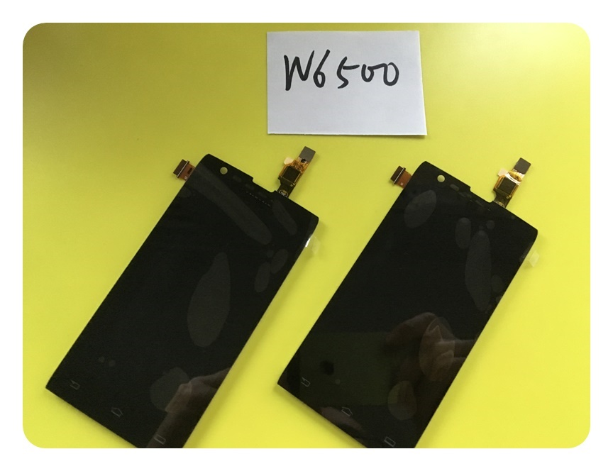 W6500 Digitizer Panel Replacement Parts For Philips W6500 Touch + LCD Display Screen Assembly ; With Tracking Number
