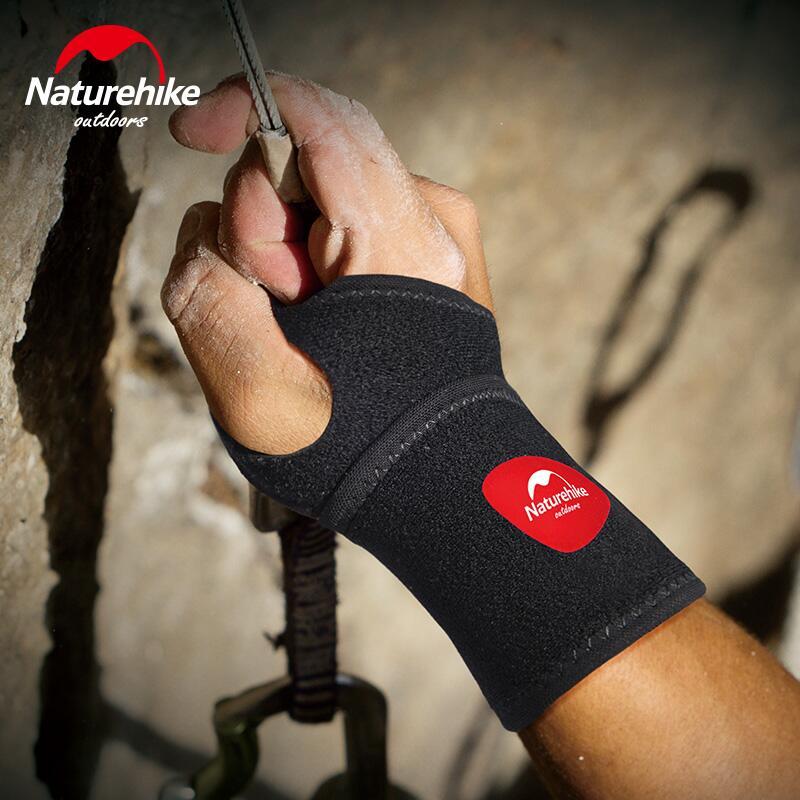 1 pcs Naturehike wrist wraps men women fitness bracelet basketball badminton powerlifting dumbbell gym anti sprained wrist brace