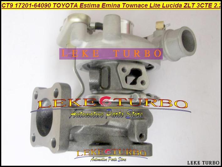 Free Ship CT9 17201-64090 Turbo Turbocharger For TOYOTA Townace Town ace Town Lite Estima Emina Lucida 3CTE 3CT 3C-T 2.2L 90HP