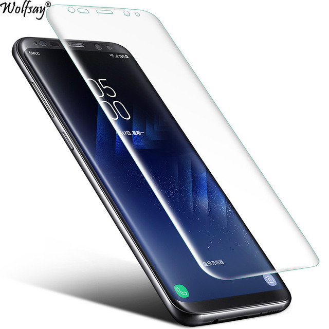 Soft Clear Screen Protector Nano Film Foil For Samsung Galaxy S8 Plus Protective Film For Samsung Galaxy S8 Plus Film Not Glass