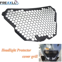 For KTM RC125 RC200 RC390 2014 2015 2016 Motorbike Motorcycle Accessories Stainless Steel Moto Headlight Protector Cover Grill