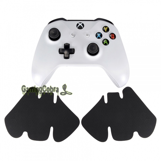 eXtremeRate Custom Flexible Skidproof Left Right Grips Stickers for Xbox One