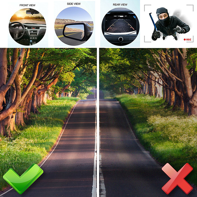 vehicle camera car rear view camera rearview Back Parking Monitor 170 Degree universal auto camera night vision HD CCD front