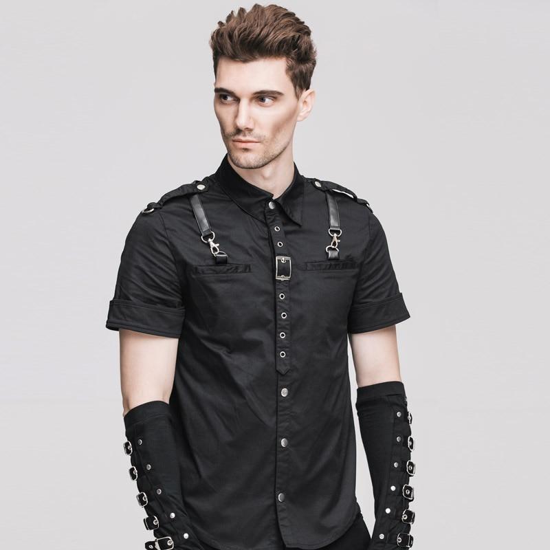 2017 frühling Sommer Teufel Und Steampunk Frauen Gespleißt T-shirt Gothic Schwarz Oansatz Langarm Nähte T-Shirt Tops