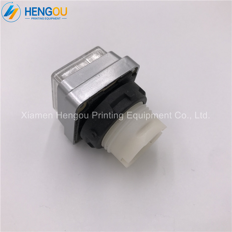 5 pieces ink push button shell for Hengoucn 00 780 2321 offset spare parts white color
