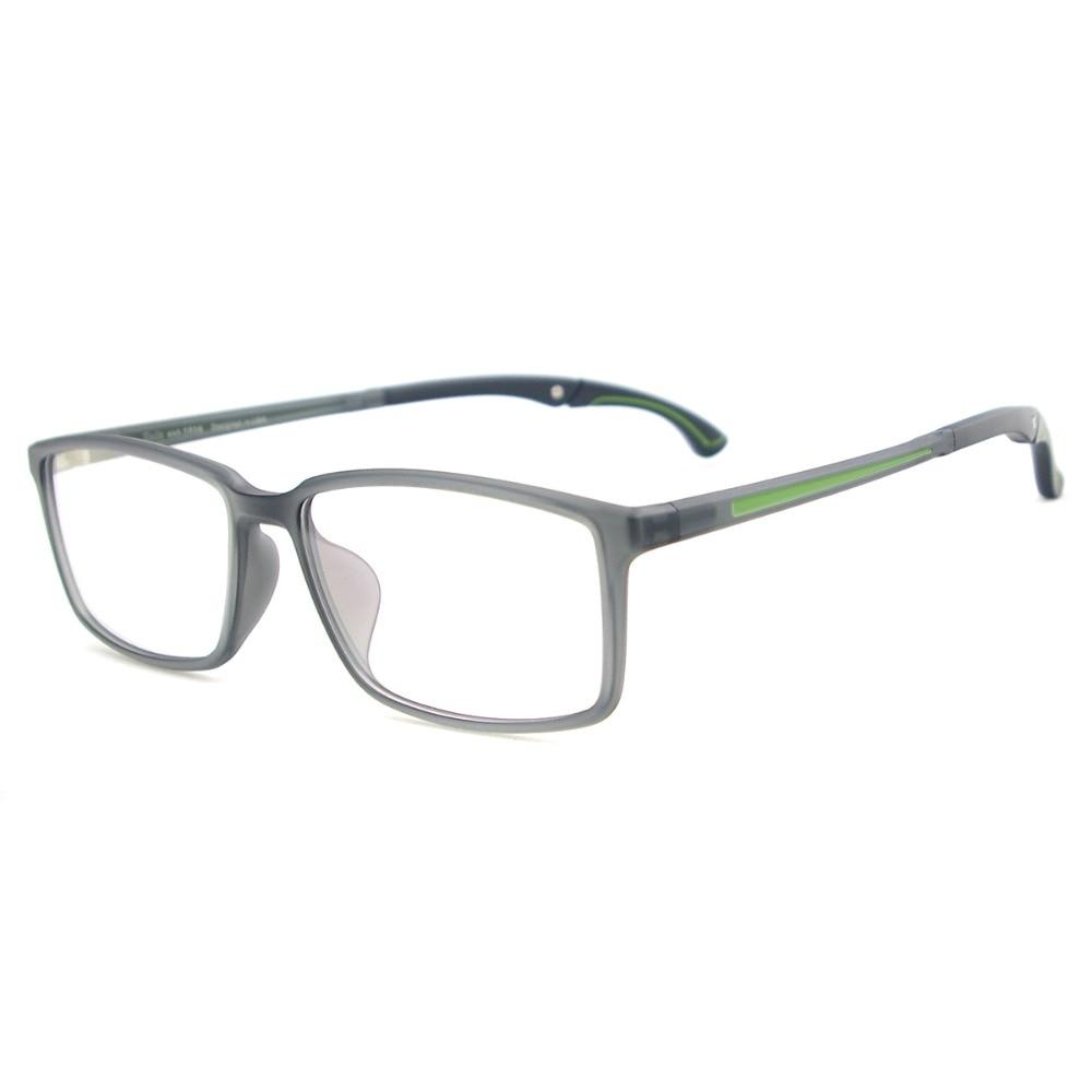Erkekler ve Kadınlar Hafif TR90 Gözlükler Dikdörtgen Spor - Elbise aksesuarları - Fotoğraf 4