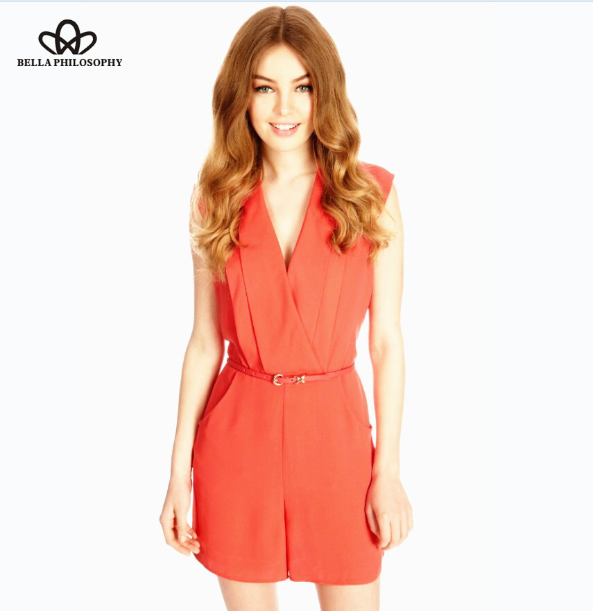 Popular Red Jumpsuit Clothing-Buy Cheap Red Jumpsuit Clothing lots ...
