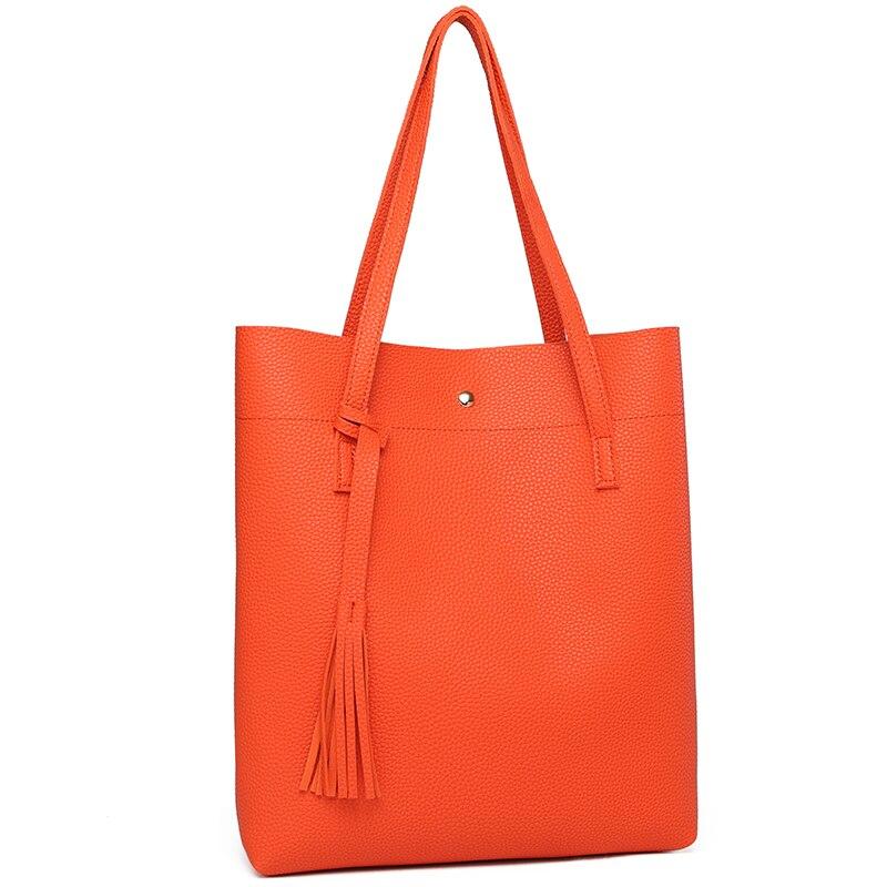 Women Shoulder Bags High Quality Women's Soft Leather Handbag 1