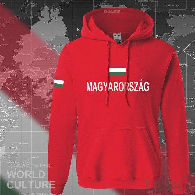 Hungary Hungarian hoodies men sweatshirt sweat new hip hop streetwear tracksuit nation footballer sporting country 2017 HUN HU