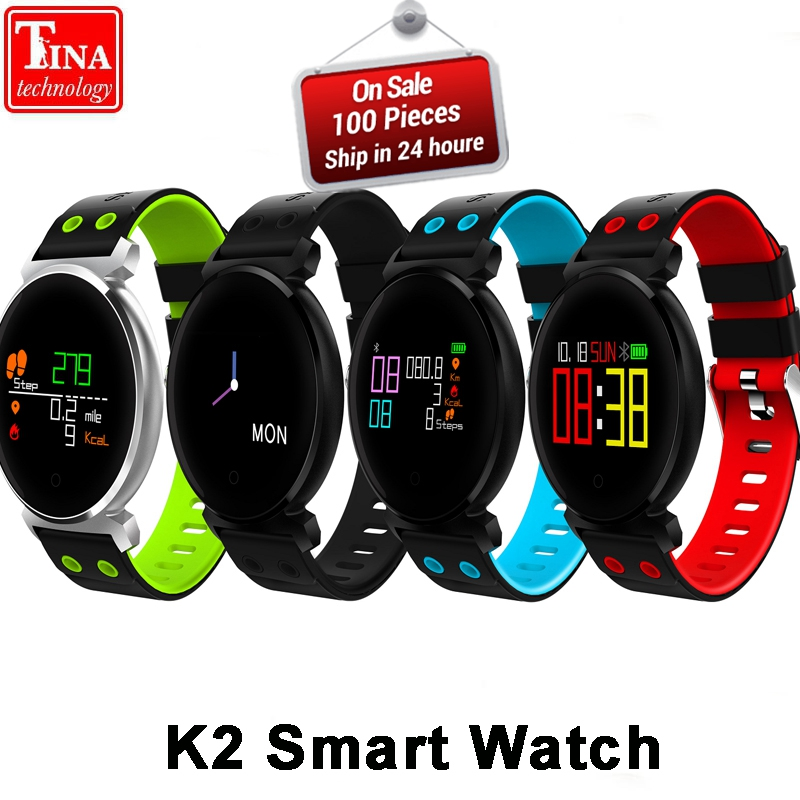 865afc318 Original K2 Smart Bracelet Watch Blood Pressure Heart Rate Monitor Blood  oxygen detection Waterproof Smart Band for smart phone