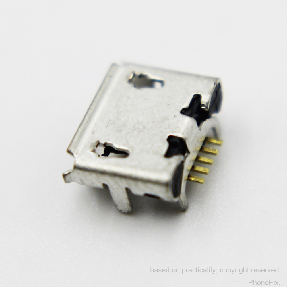 10pcs/lot for <font><b>HTC</b></font> <font><b>HD2</b></font> <font><b>T8585</b></font> / HD7 Micro USB Charge Charging Sync Port Dock Connector image