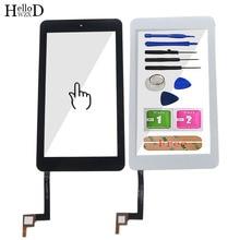 Стекло для Alcatel One Touch Pop 7 P310 P310A P310X, сенсорный экран 7,0 дюйма, дигитайзер, Передний сенсорный экран, стеклянная панель, датчик