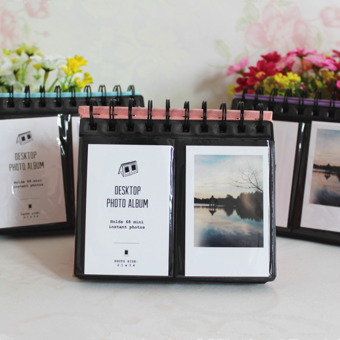 68 bolsillos Mini instantánea Polaroid Photo Album Picture Case para Fujifilm Instax Mini película instax mini Polaroid álbum de boda