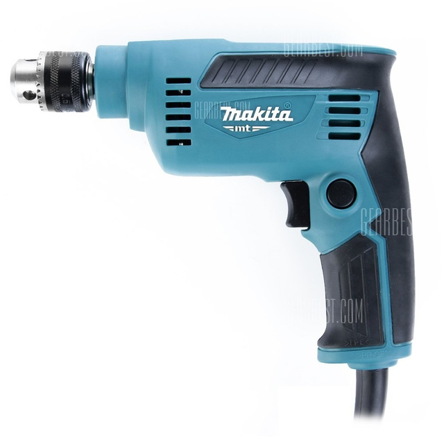 Makita M6500b 6 5mm 230w Hand Drill Portable Tool Blue And Black