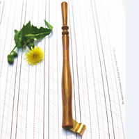 Hand Made Rose Wood Oblique Calligraphy Copperplate Script Writing Dip Pen Holder