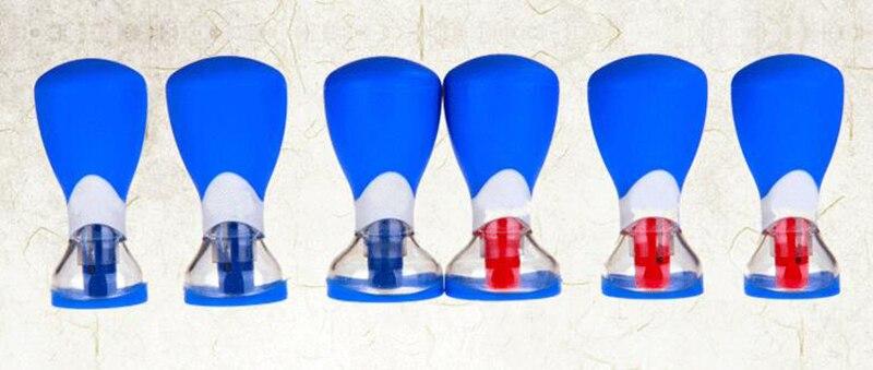Les nouvelles cinq lignes d'aiguille bipolaire aimant aiguille six ménage ventouses acupuncture dispositif de ventouses therapy-wxz1 magnétique - 4