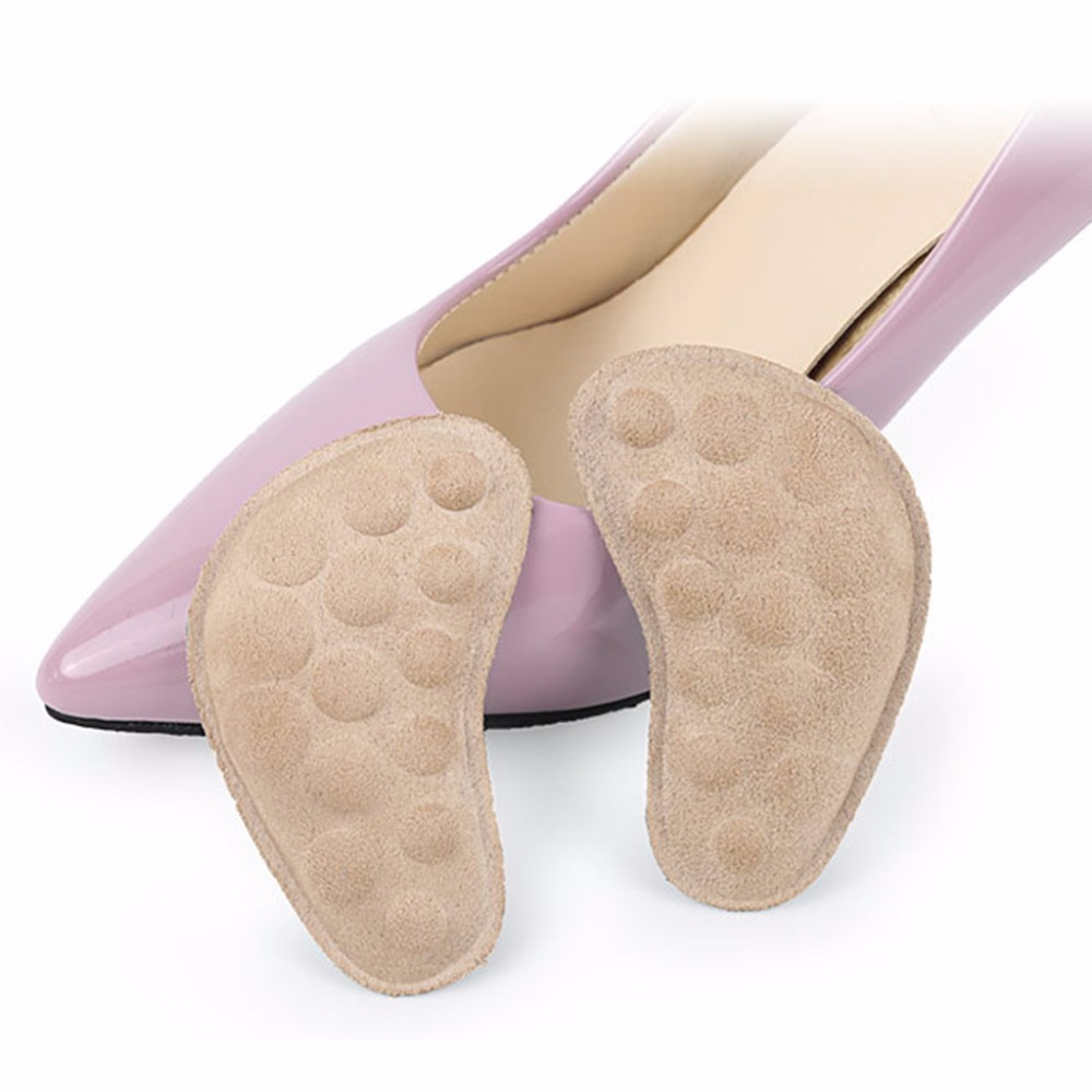 EYKOSI 1 Pair Cushion Protector Shoes Back Insert Insole High Heel Ankle Massage Pads цена 2017
